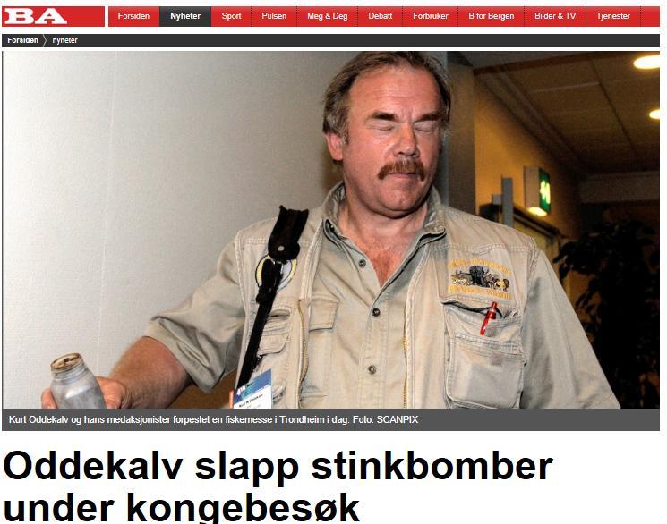 Kurt stink bomb