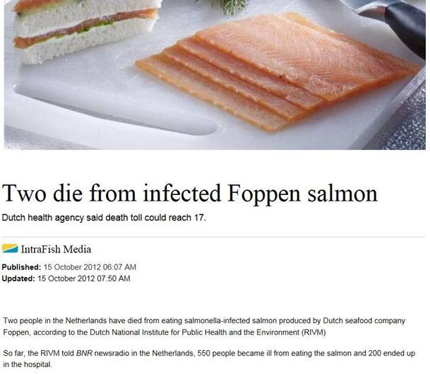 Foppen Intrafish on two dead headline