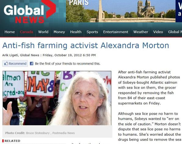 Global News on Alex Oct 2012