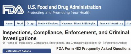Scottish sea farms #19 FDA 483