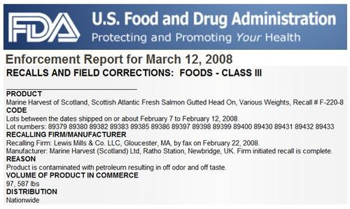 MH FDA enforcement report 2008