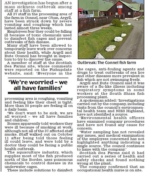 Scottish sea farms #22 Daily Mail body