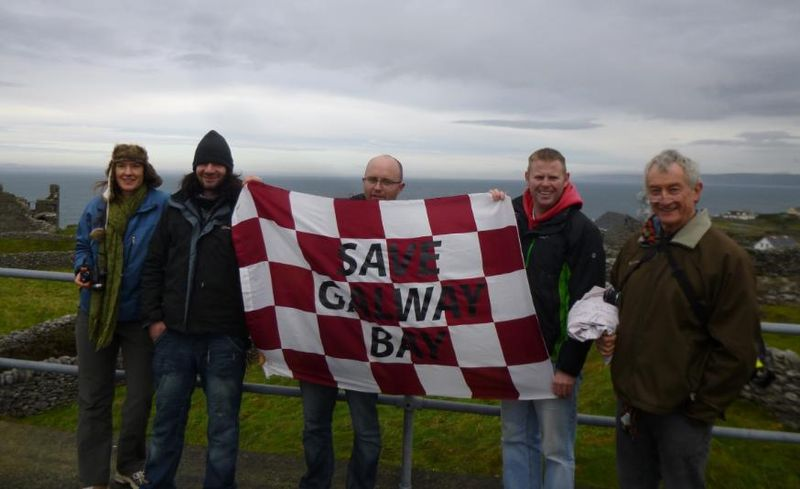 Photo #11 Save Galway Bay group shot on tower