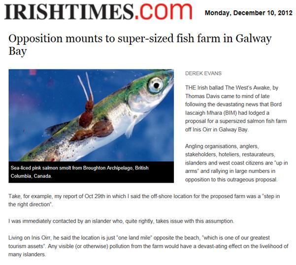 Irish Times 10 December 2012