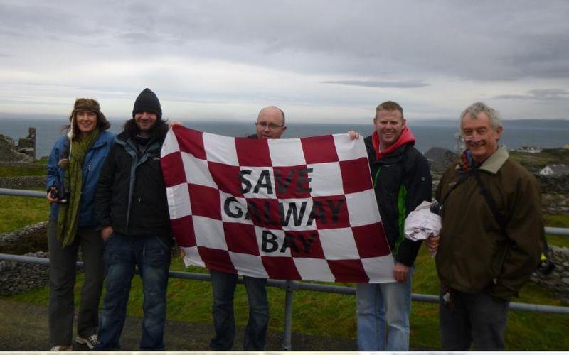 Feck off Galway bay