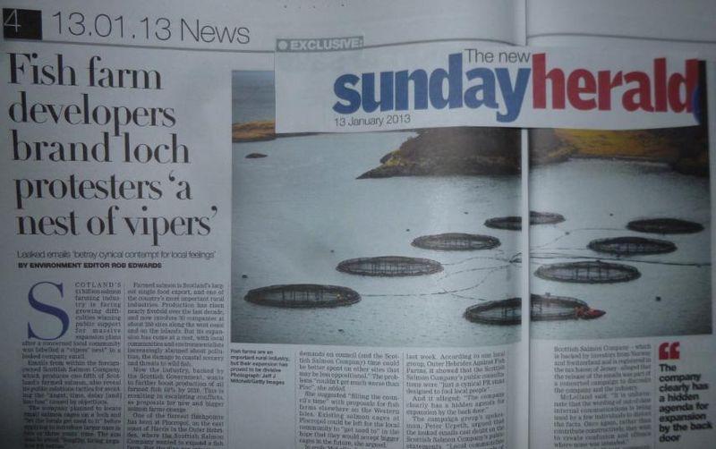 FishyLeaks Sunday Herald #3 headline