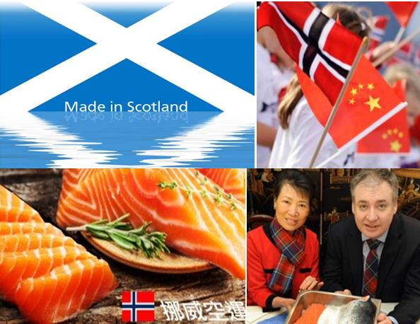 Made in Scotland China Norway