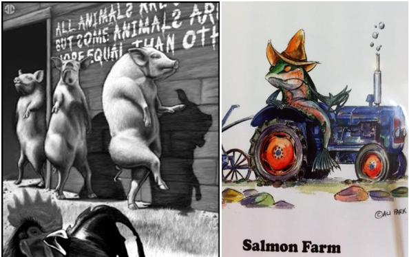 Animal Farm salmon added #2