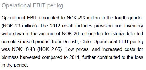 Q4 2012 report #4 chile