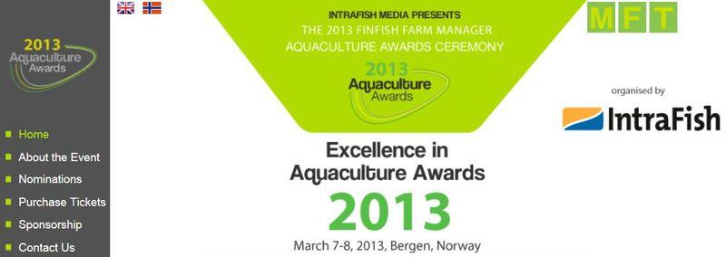 Aquaculture Awards 2013