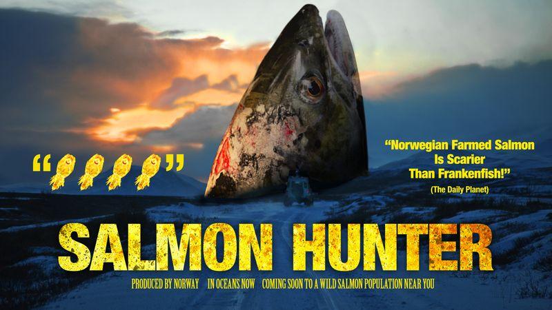 Salmon Hunter film poster
