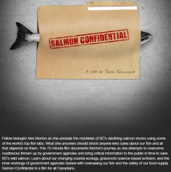 Twyla film salmon confidential with words