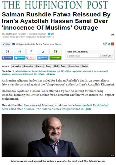 Fatwa Rushdie