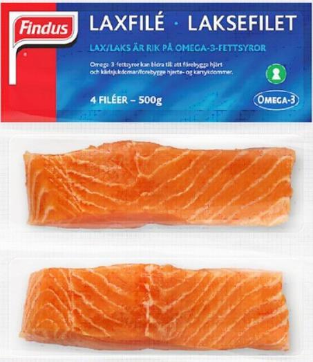Findus salmon
