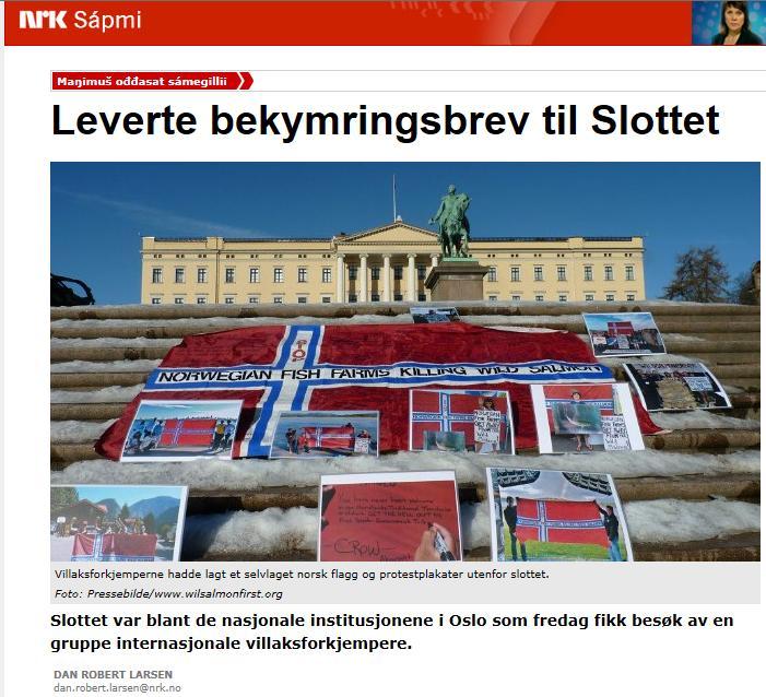NRK on Royal Palace March 2013 #1