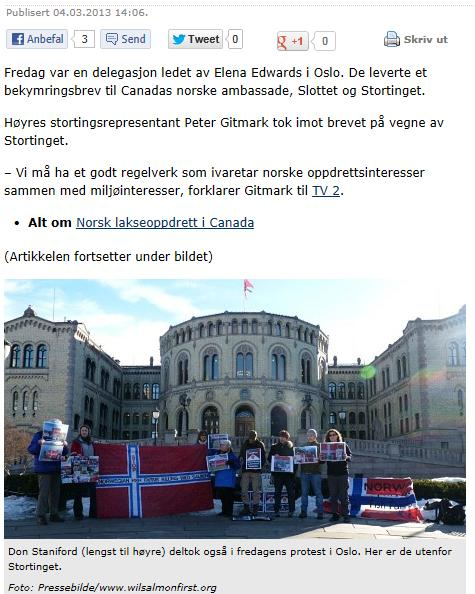 NRK on Royal Palace March 2013 #2