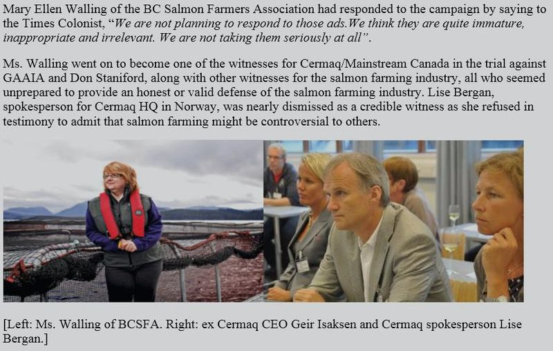 Cermaq corporate moron #1