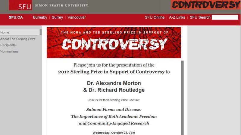 Controversy prize