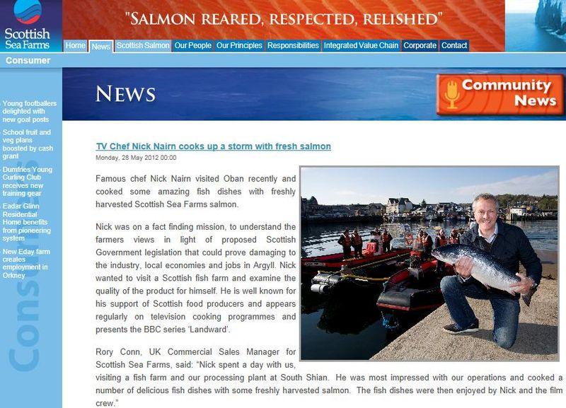Scottish sea farms #13 Nick Nairn