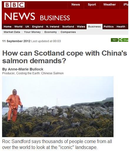 Roc Sandford in BBC News