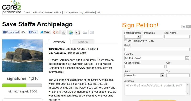 Gometra petition