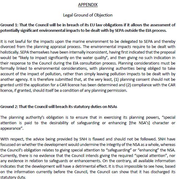 Gometra legal letter #2