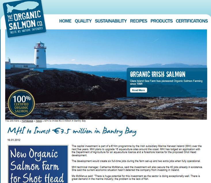 MH organic Bantry Bay