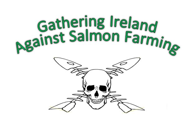 Gathering Ireland Against Salmon farming