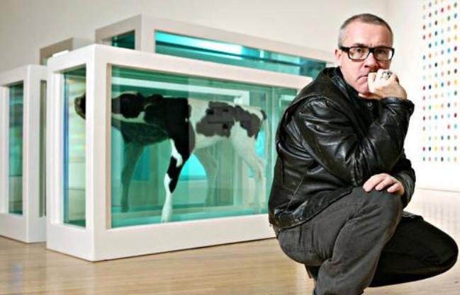 Damien Hirst cow