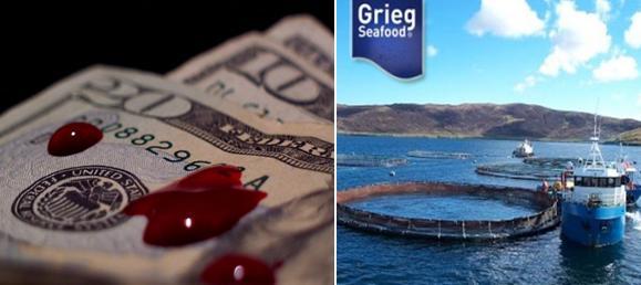 Blood money Grieg