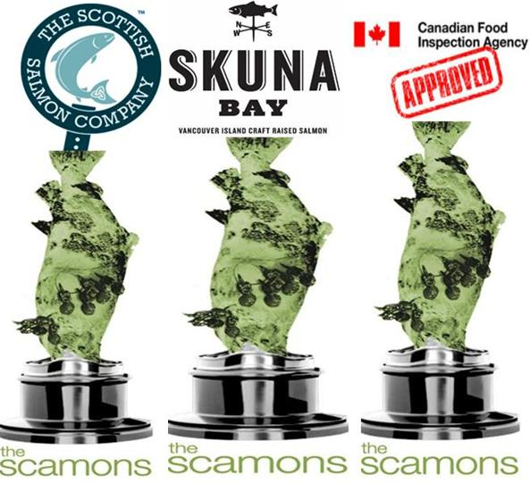 Scamons collage SSC Skuna CFIA