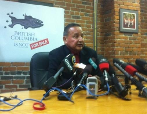 Grand Chief Stewart Phillip not for sale