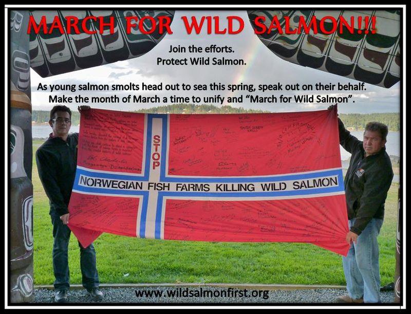 Wild Salmon First March for Wild Salmon #5 Bob & Darren