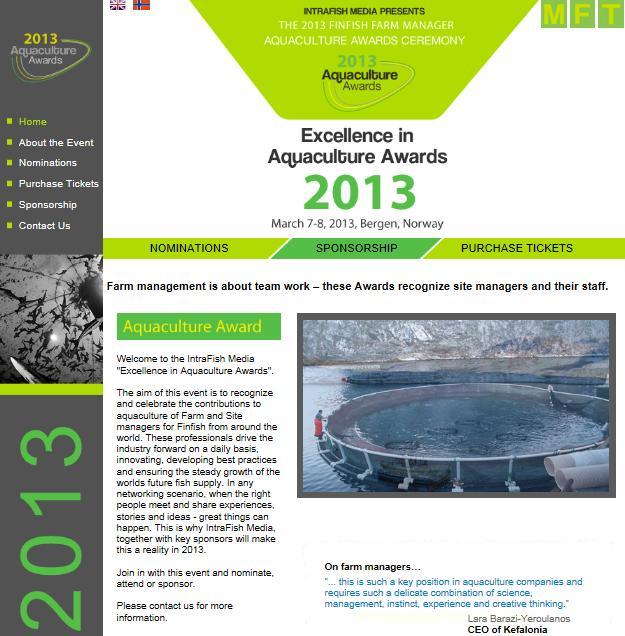 Aquaculture Awards #1