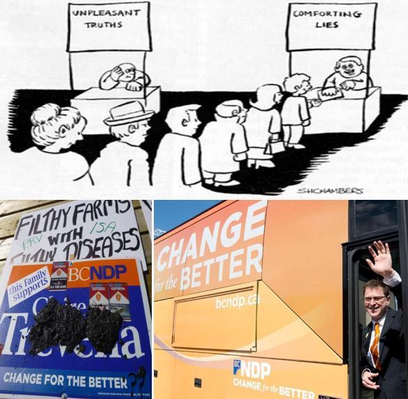 Comforting lies NDP