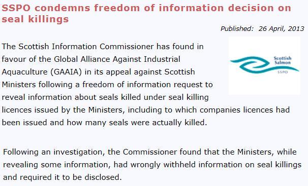 SSPO condens Fish Update April 2013