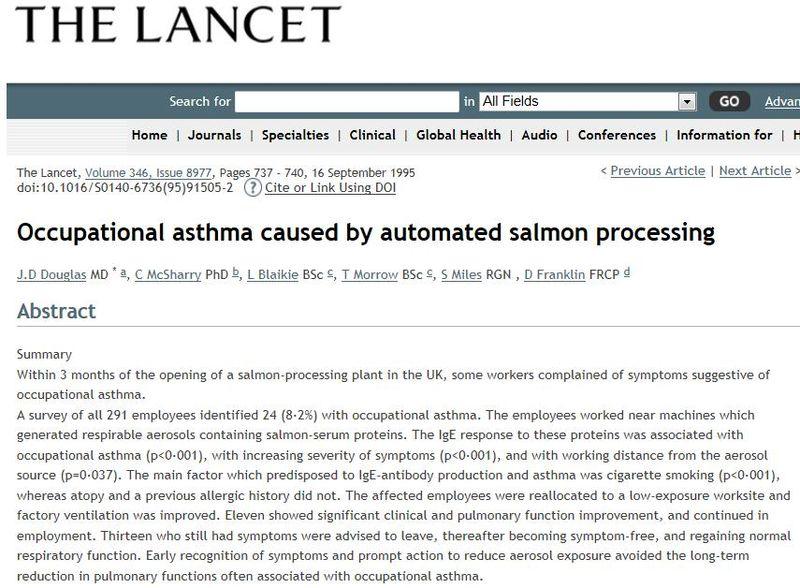 Scottish Sea farms #5 Lancet paper