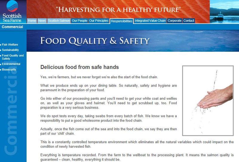 Scottish Sea farms #9 safe hands
