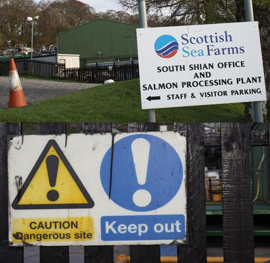 Scottish sea farms #15 Dangerous site