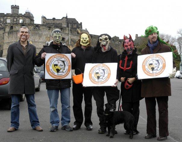 Halloween #8 Edinburgh castle