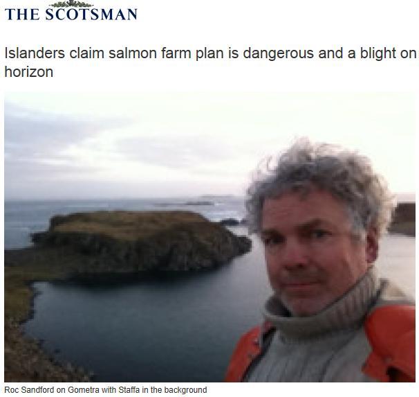 Roc Sandford in Scotsman