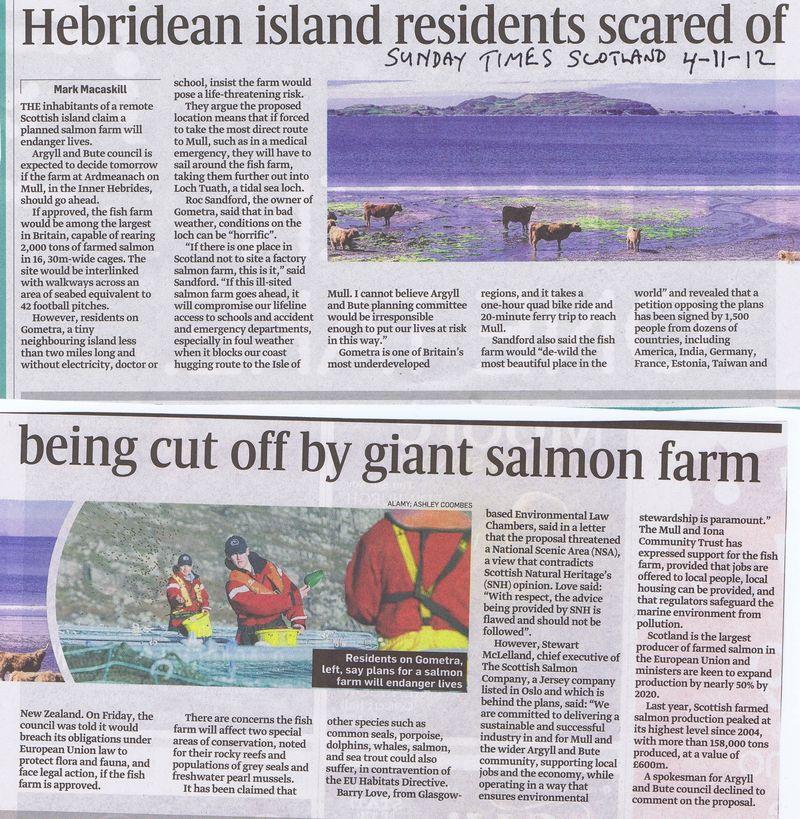 Sunday Times Gometra 4 Nov 2012
