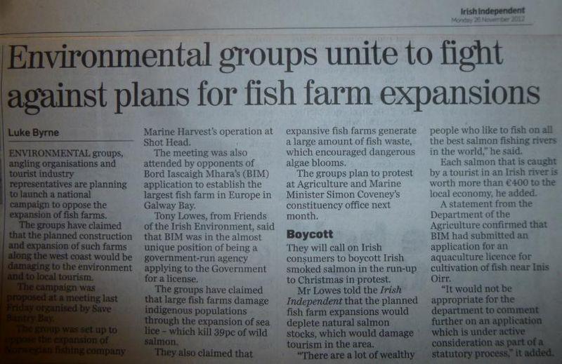 Irish Independent 26 Nov 2012