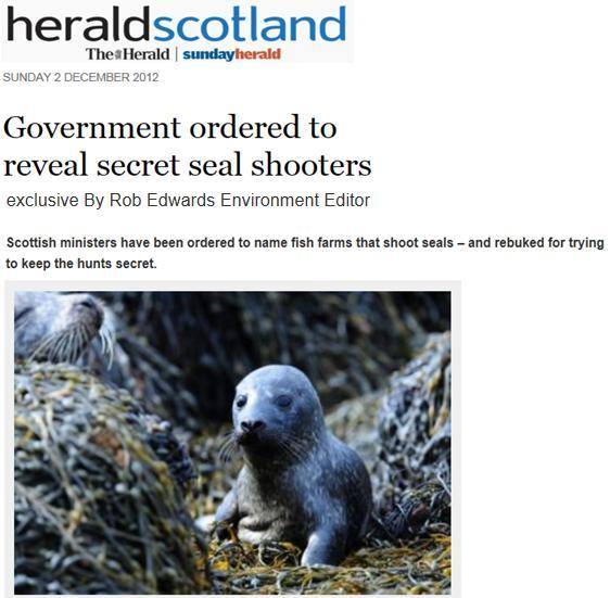 Sunday Herald 2 Dec 2012