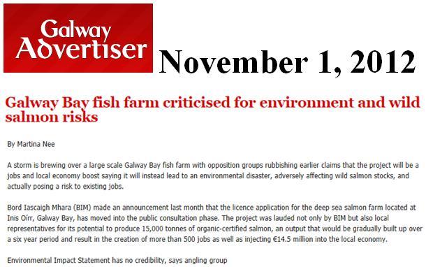 Galway Bay 15,000 tonne farm