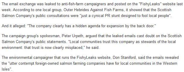 FishyLeaks Sunday Herald 13 Jan 2013 #2