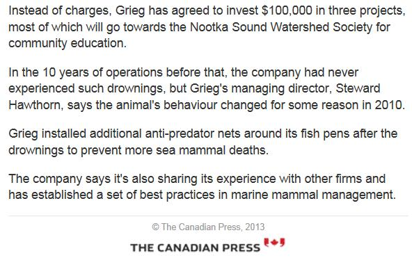 CBC on Grieg seals #2