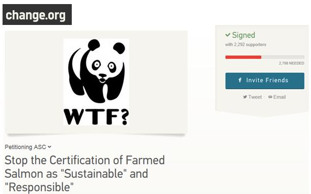 Change WWF petition