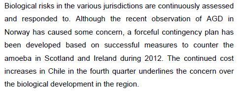Q4 2012 report #11 outlook