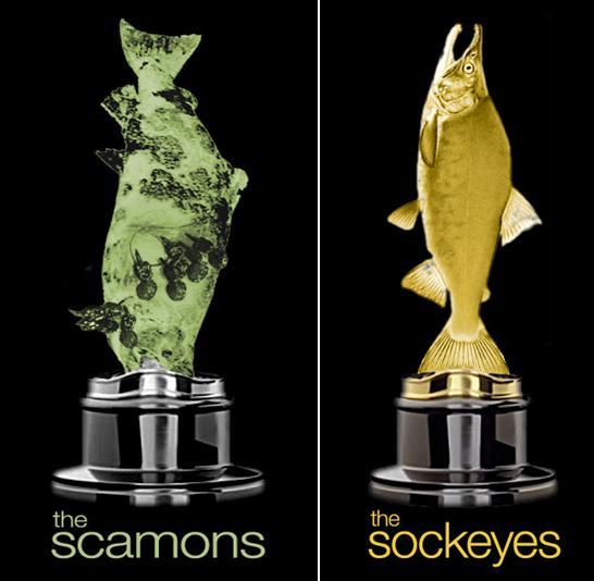 Scamons & sockeyes